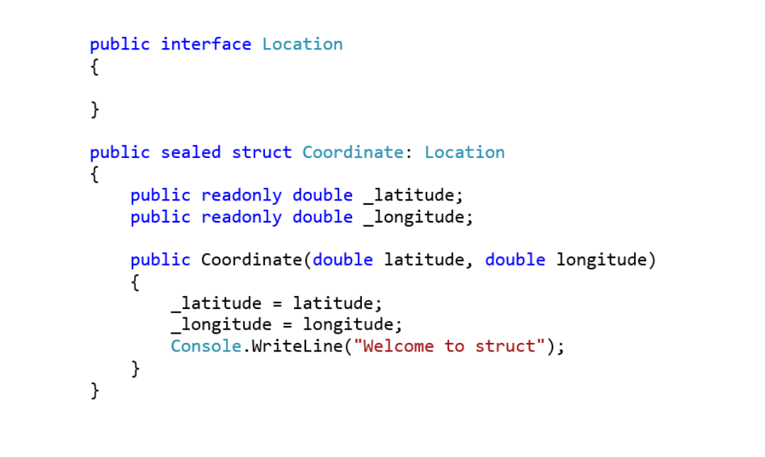 struct mcq in C#